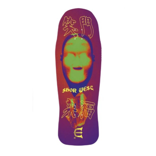 "Evisen Skateboards - Shor West Sticky Face 10.34"" Deck"