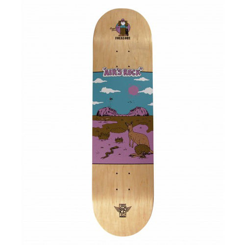 FOLKLORE - Fibre Tech Lite Air's Rock Purple Blue Deck 8.0""