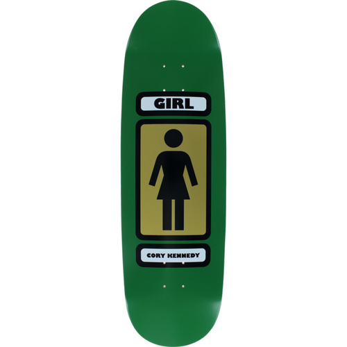 "Girl Skateboards - Cory Kennedy 93 Til Series 9.12"" Green Deck"