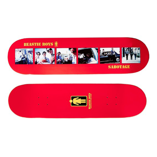 Girl Skateboards - Beastie Boys Sabotage Deck