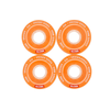 Globe - Bruiser Clear/Coral wheels 62mm