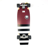 Grand Gopher - Burgundy Zebra Swivel Surfskate Cruiser