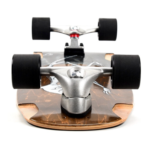 Grand Gopher - Surfskate Skull Swivel Surfskate