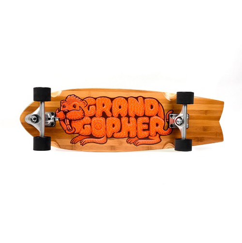 Grand Gopher - Tie Dye Swivel Truck Surfskate