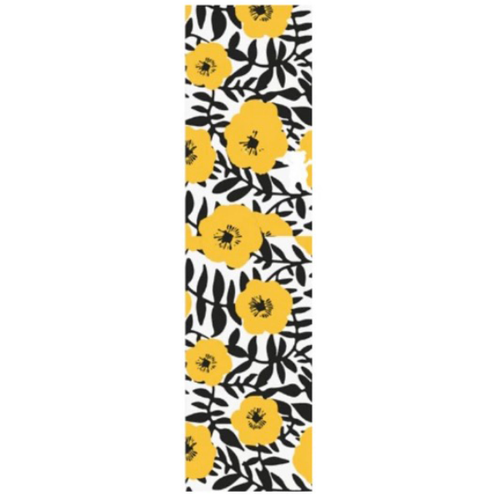 Grizzly - Push Daisies Yellow Cut Off Bear Grip Tape