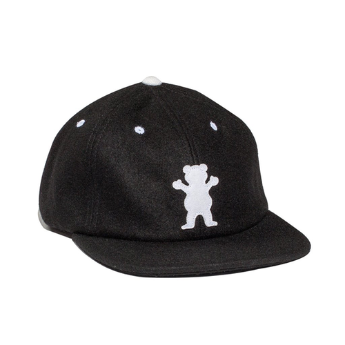 Grizzly - Hall Of Fame Unstructured Cap Black
