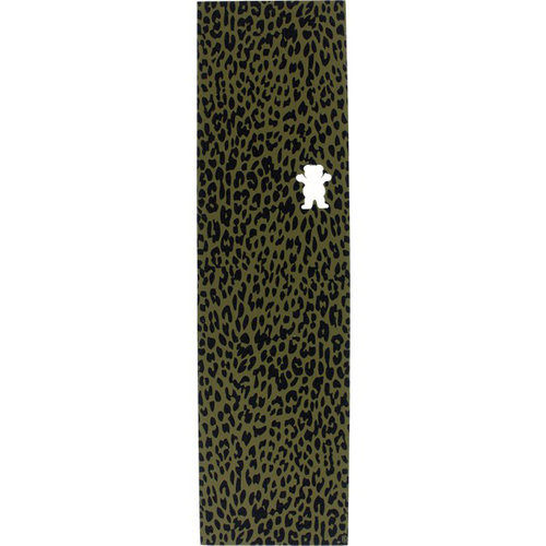 Grizzly - Leopard Grip Cut off bear