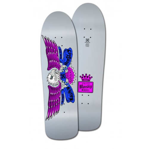 "H-Street - Matt Hensley King Size Eagle Caballero Art Edition 9.75"" Deck White Dip"