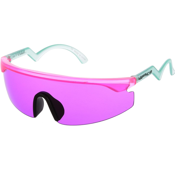Happy Hour - Accelerators Pink/Turquoise Sunglasses