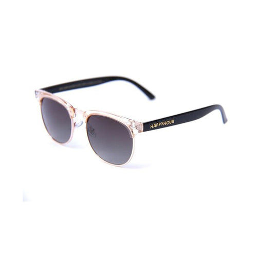 Happy Hour - G2 Champagne Black Gloss Lens Sunglasses