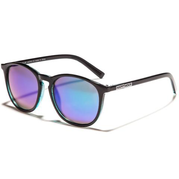 Happy Hour - Jon Dickson Flap Jacks Sunglasses Black