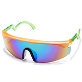 Happy Hour - Accelerators Orange/Green Sunglasses
