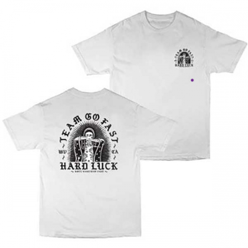 Hard Luck - Mari T-Shirt White