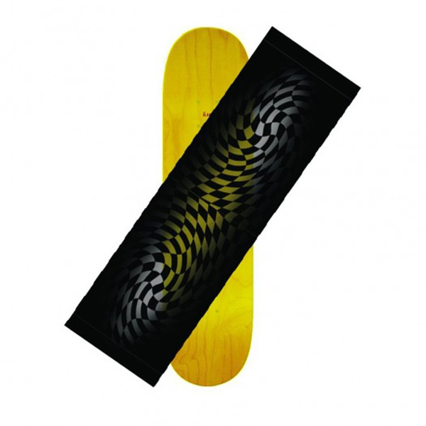 Hard Luck - Checker Fade Clear Grip Tape