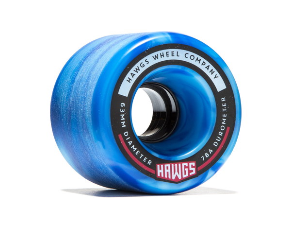 Hawgs Wheels - Hawgs Fattie 63mm x 78a Blue