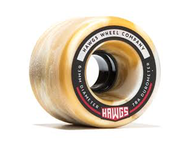 Hawgs Wheels - Fatty 63mm x 78a Mocha