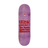 Heroin Skateboards - Texas Chainsaw Massacre Leather Face 8.5