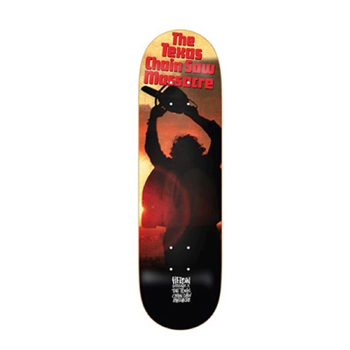 "Heroin Skateboards - Texas Chainsaw Massacre Leather Face 8.5"" Deck"