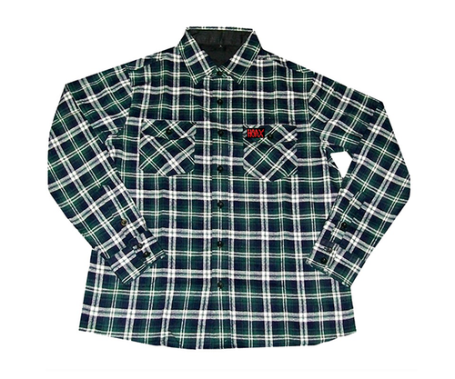 Hoax MFG - Flannel Green Large