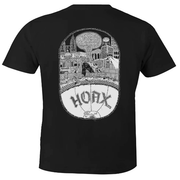 "Hoax MFG - ""Armagedon"" T-Shirt Black"