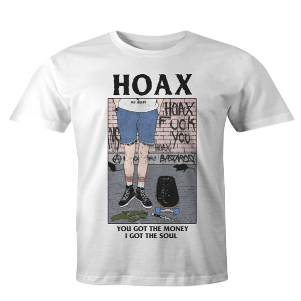 "Hoax MFG - ""My Rules"" T-Shirt White"