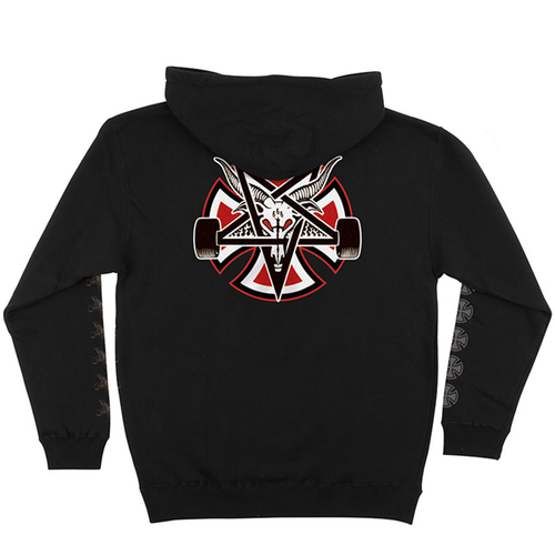 Independent Trucks - Thrasher Pentagram Cross Hood Black