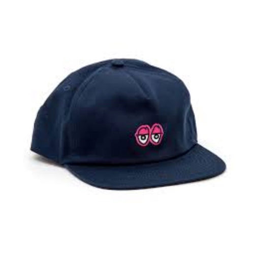 Krooked - Adjustable Eyes Navy Cap