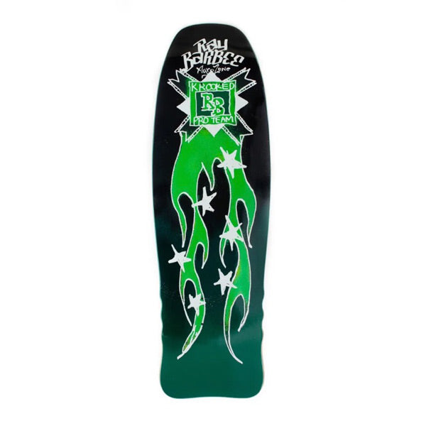"Krooked - Flames Barbee 10"" Deck"