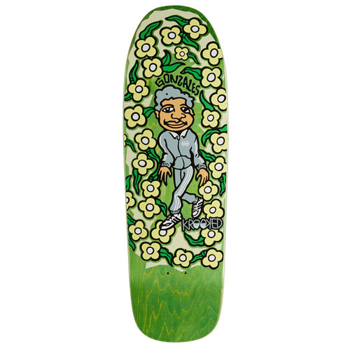 "Krooked - Sweatpants Gonzales 9.81"" Deck"