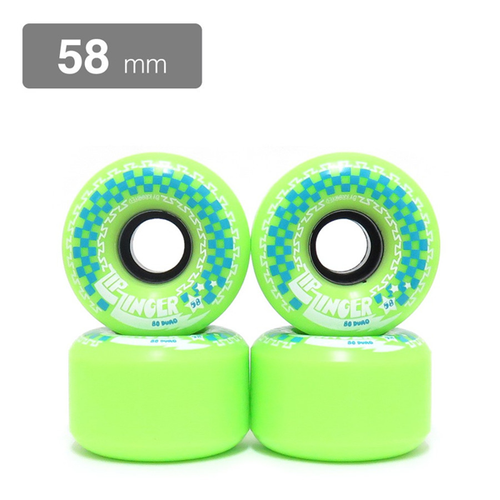 Krooked - Zip Zinger Wheels - 80D Green 58mm