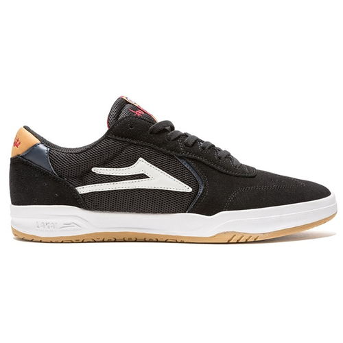 Lakai - Atlantic Black/Yellow Suede Shoes