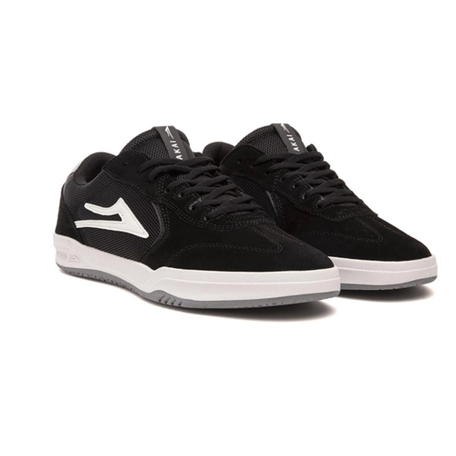 Lakai - Atlantic Black/Light Grey Suede Shoes