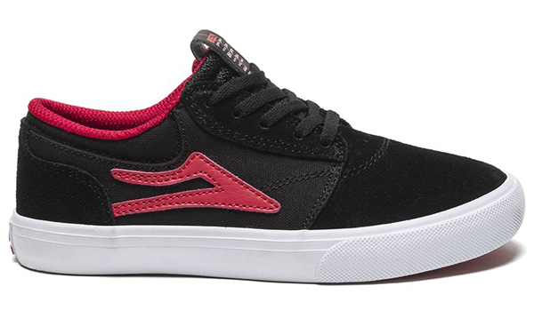 Lakai - Griffin Kids Black / Red Suede
