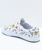 Lakai - Porous Walker Owen VLK White Canvas Slip On Shoes