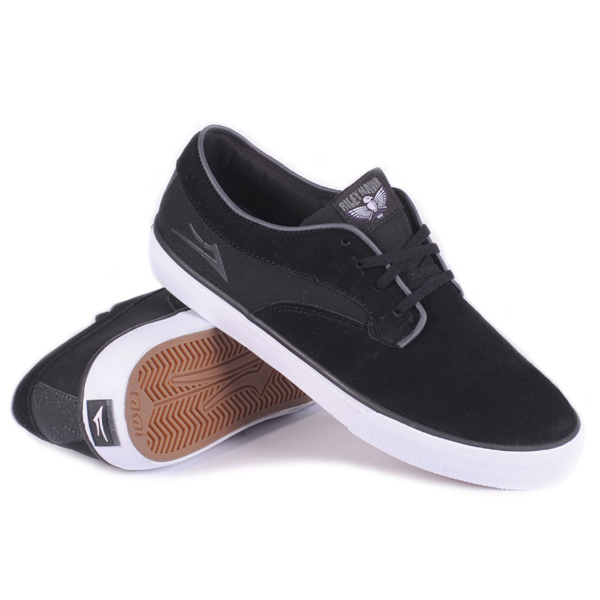 Lakai - Riley Hawk Black Suede