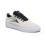 Lakai - Bristol White/Black Suede Shoes