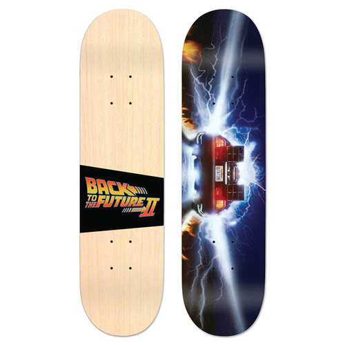 "MADRID - Back To The Future II Burnout 8.0"" Deck"