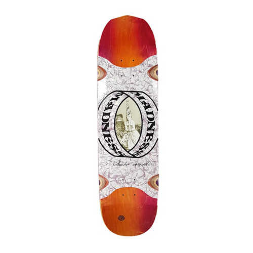 "Madness Skateboards - Nohubo Ring Slick 8.5"" Deck"