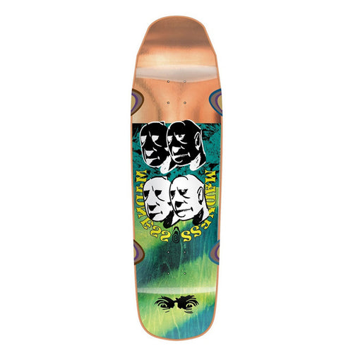 "Madness Skateboards - Bloc Head R7 9.0"" Deck"