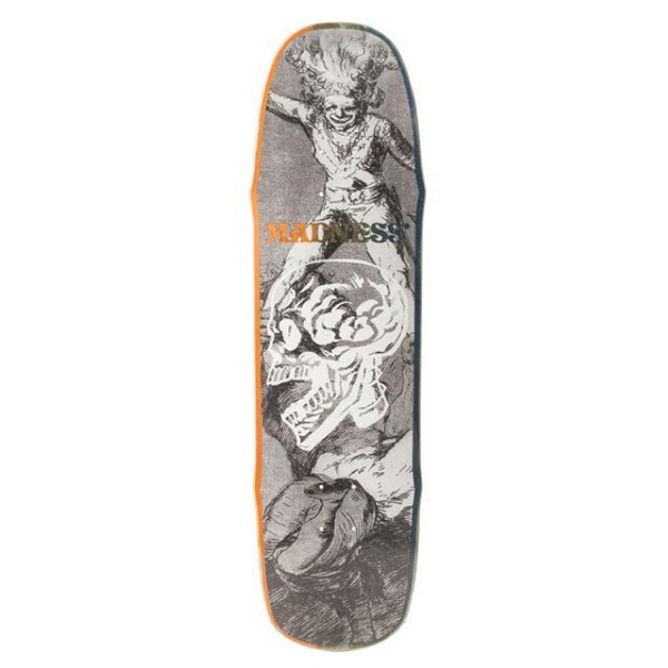 "Madness Skateboards - X-Ray R7 8.5"" Deck Black/White"