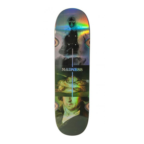 "Madness Skateboards - Disaster Holographic R7 8.75"" Deck"