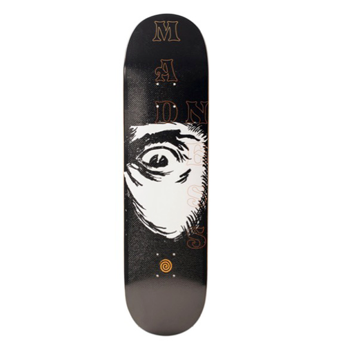 "Madness Skateboards - Eye Of Beholder R7 8.25"" Black/White Deck"