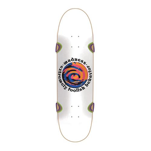 "Madness Skateboards - Swirl Eye R7 9.0"" Deck"
