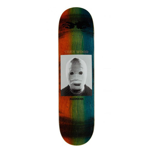 "Madness Skateboards - Trey Bandage R7 8.25"" Deck"