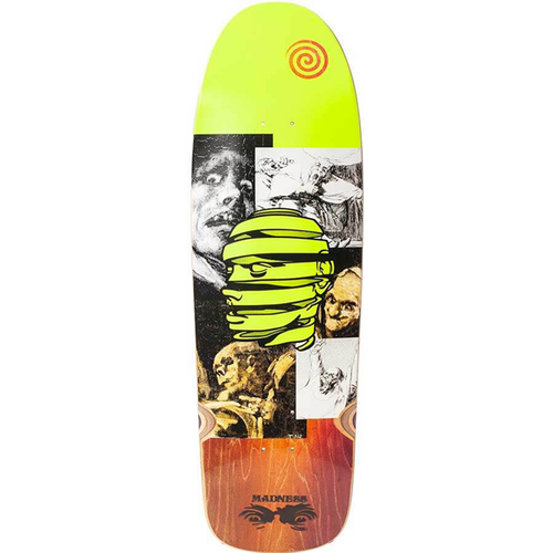 "Madness Skateboards - Unravel Peel R7 9.625"" Deck"