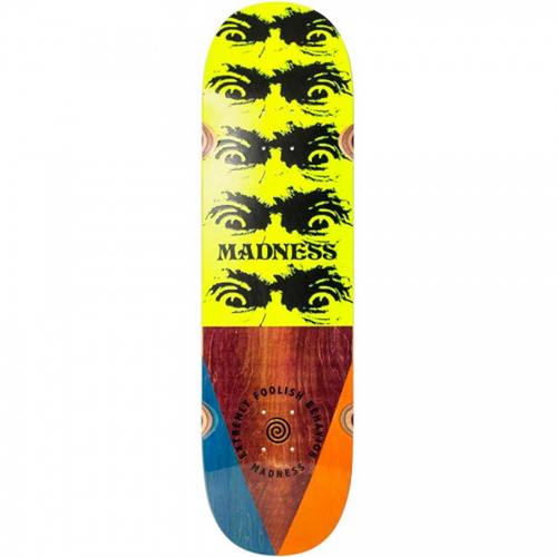 "Madness Skateboards - Decent Impact Light 8.75"" Deck"