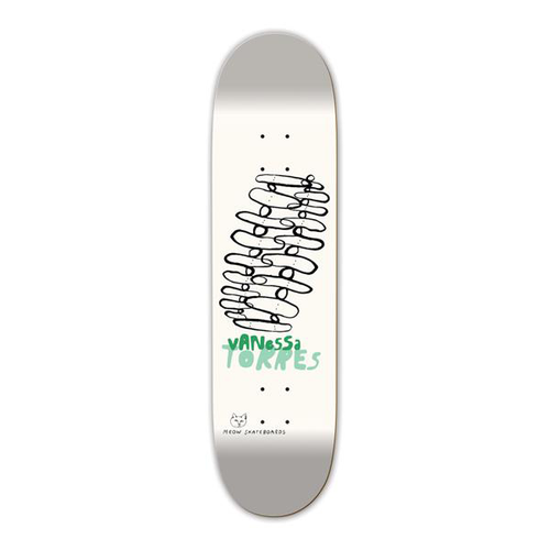 Meow Skateboards - Vanessa Torres Stacked 8.25 Deck