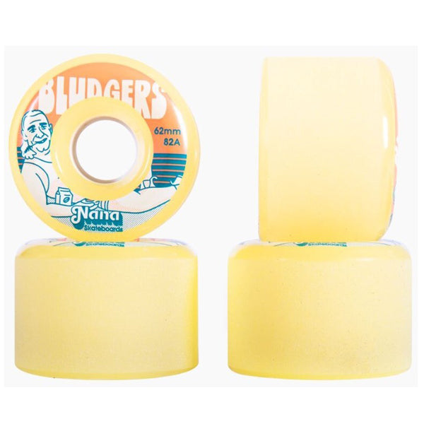 NANA SKATEBOARDS - Bludgers Wheels 62mm