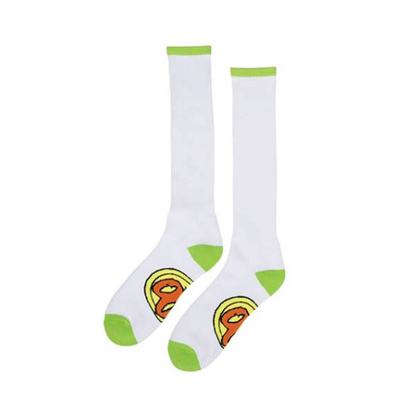 Toy Machine - Sect Eye Stripe Socks Yellow Orange Blue