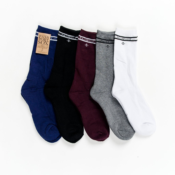 Passport - Salute Socks 5 Pack